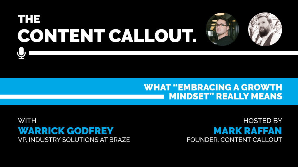 """What """"Embracing a Growth Mindset"""" Really Means with Warrick Godfrey, Ep #28"""