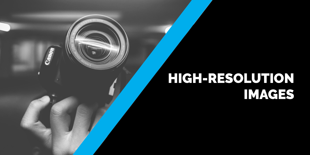 High-Resolution Images – Making the Difference for Your Printed Documents