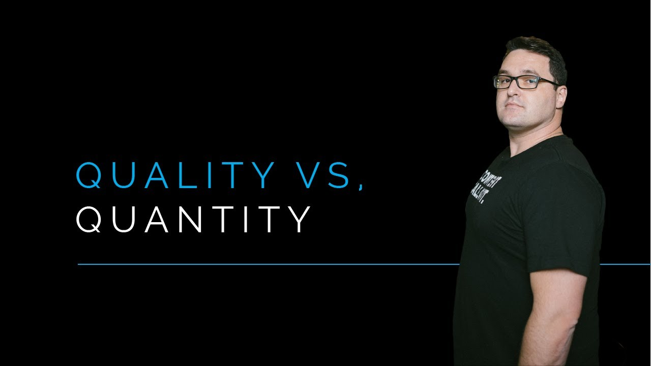 Quality VS Quantity in Content Marketing