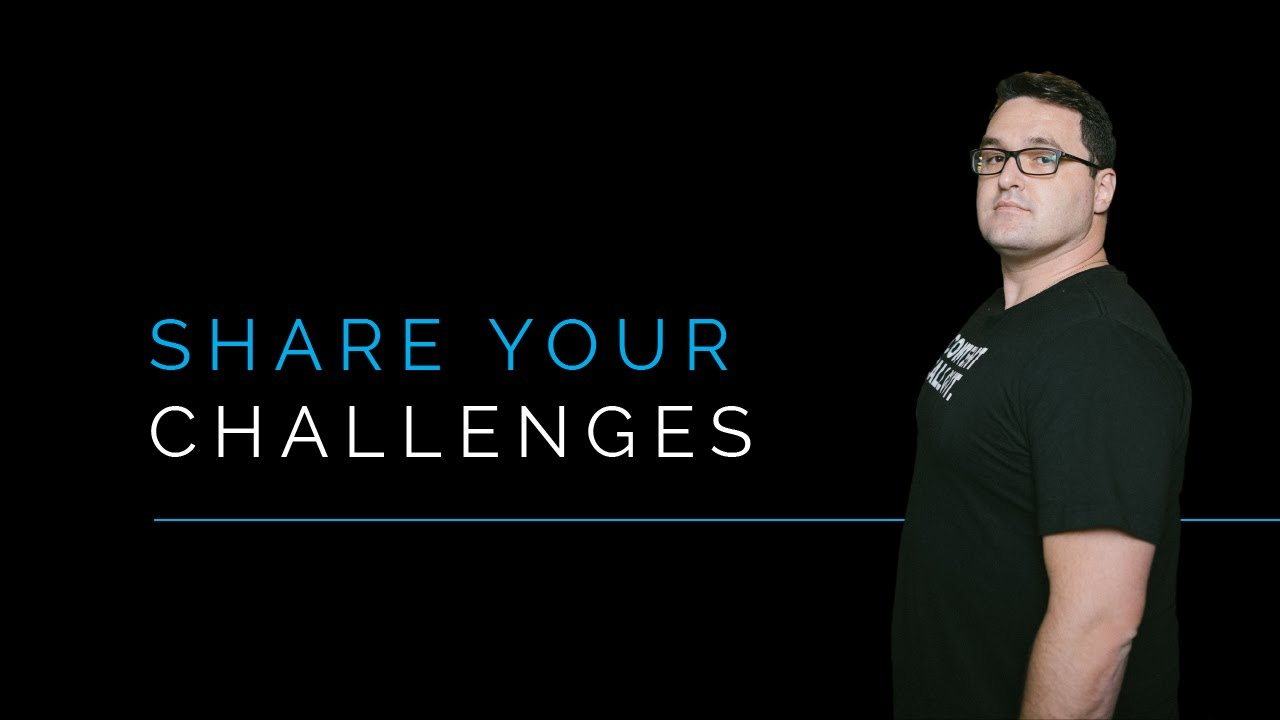 Should You Share Your Challenges With Your Audience?