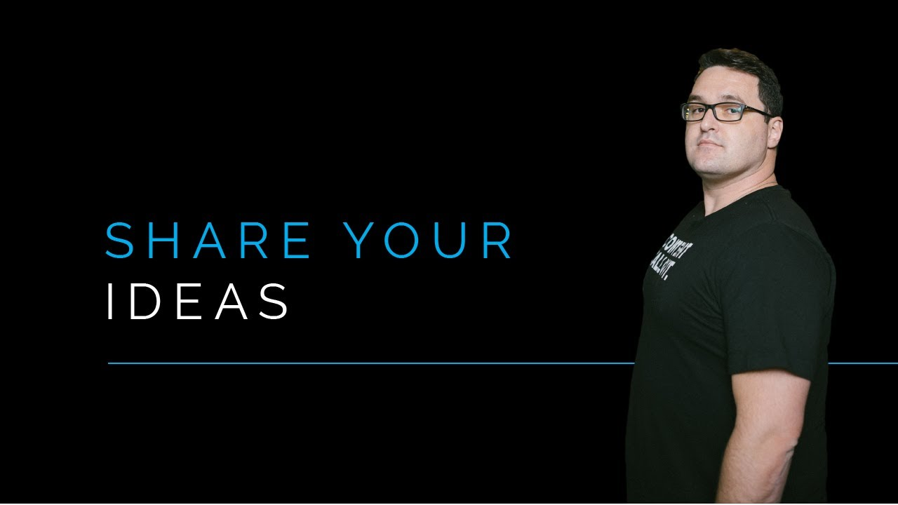 Share Your Ideas to Become a Thought Leader