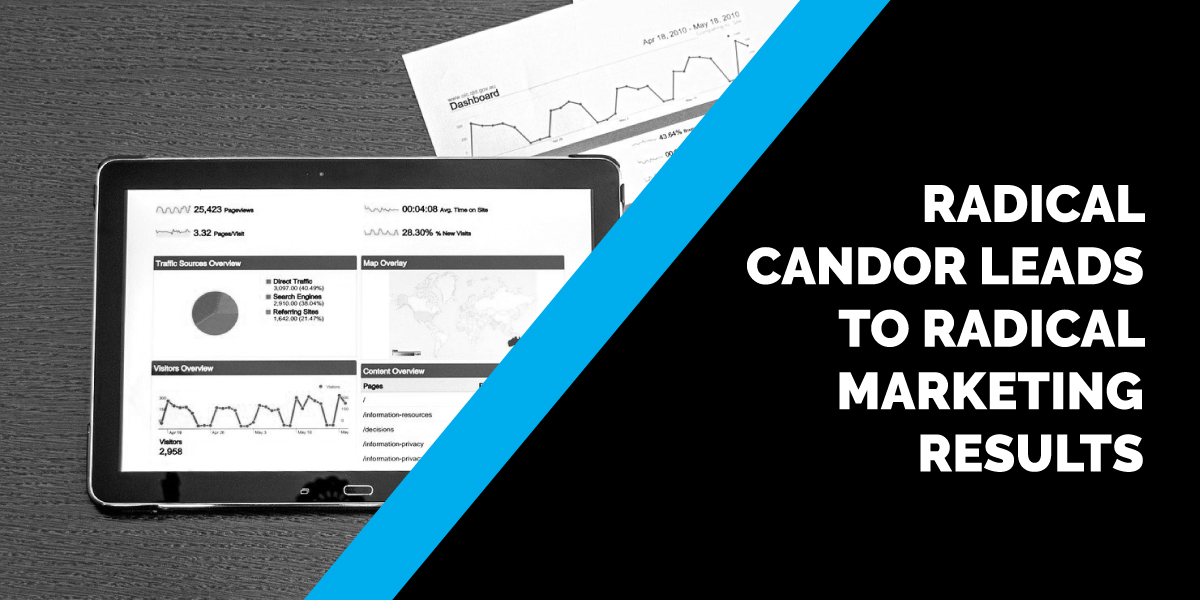 Radical Candor Leads to Radical Marketing Results
