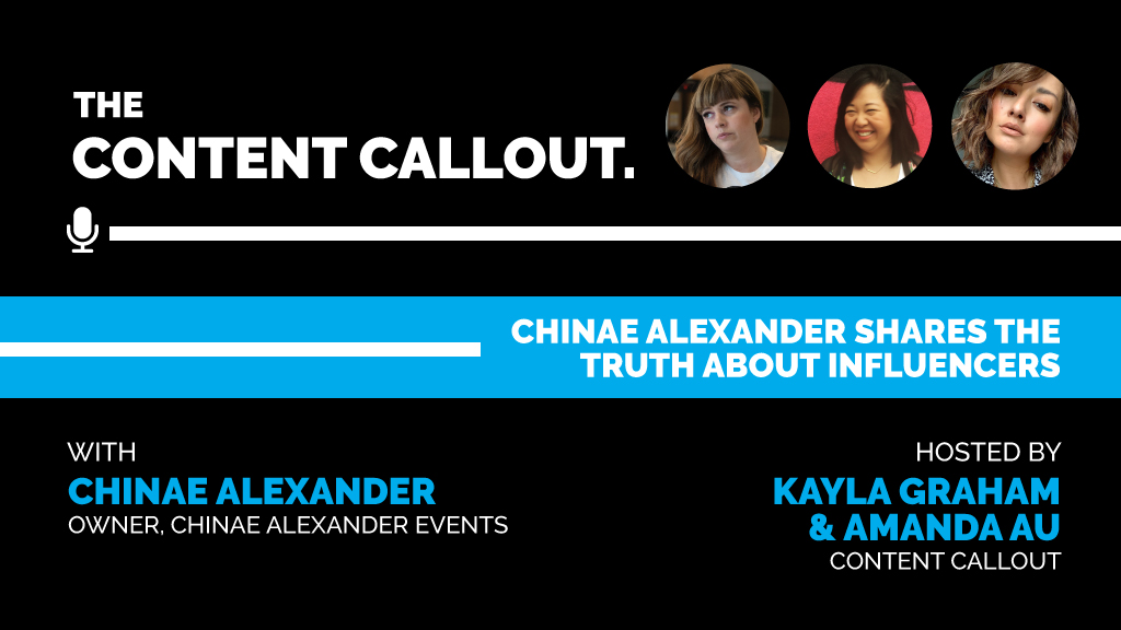 Chinae Alexander Shares the TRUTH About Influencers, Ep #11
