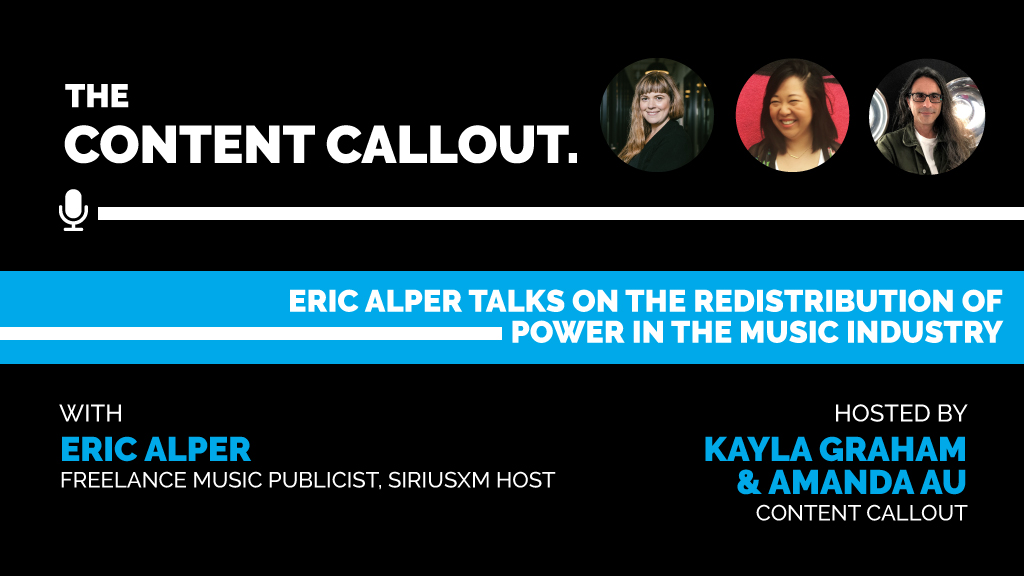 Eric Alper Talks on the Redistribution of Power in the Music Industry, Ep #15