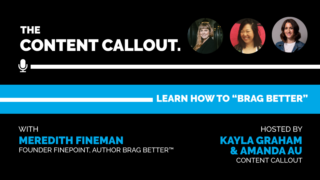"""Learn How to """"Brag Better"""" with Meredith Fineman, Ep #29"""