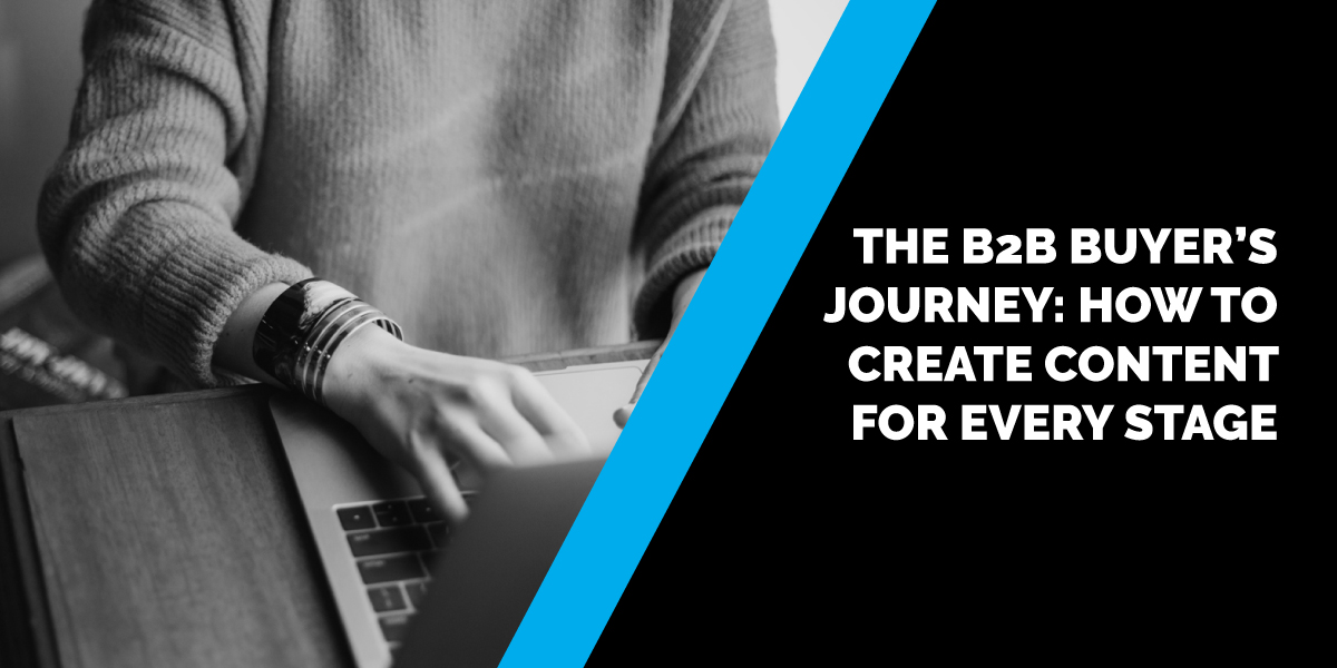 The B2B Buyer's Journey: How to Create Content for Every Stage